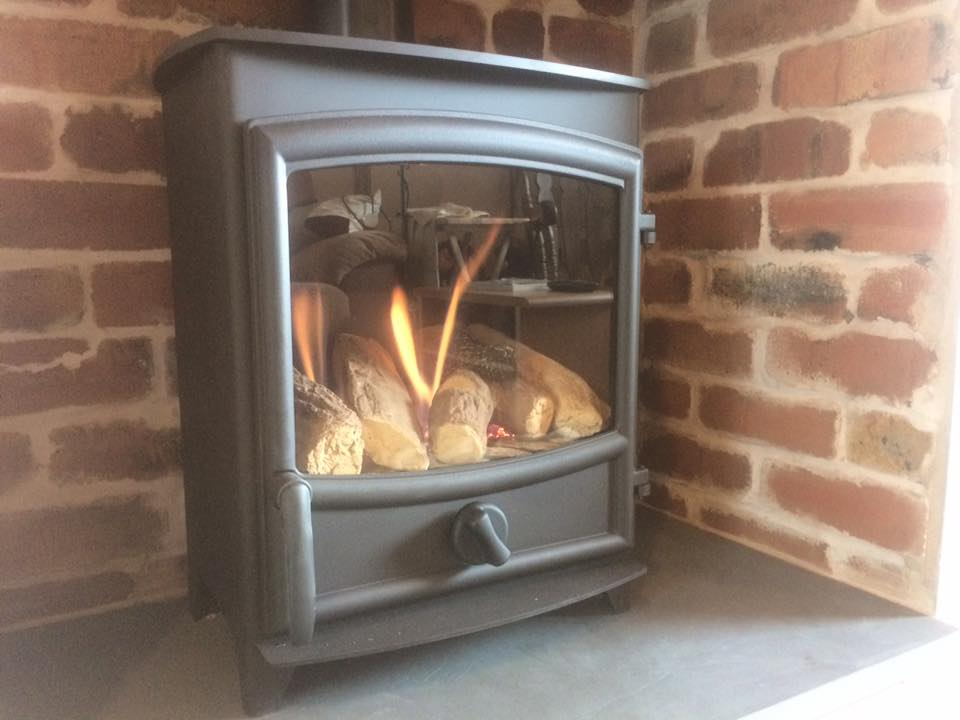 Stunning new gas stove installed