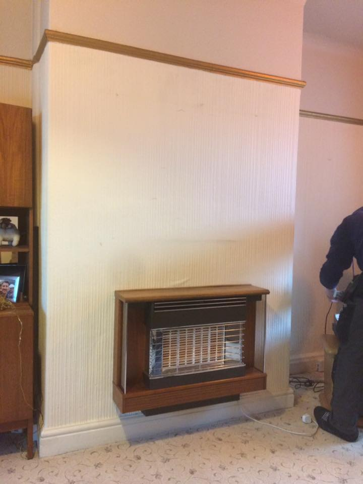 Old Gas Fire